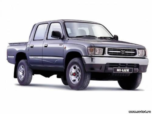 Toyota HiLux – один из самых